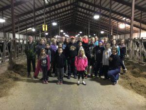 Royal Raiders visited El-Na Farms at their October 2016 meeting.