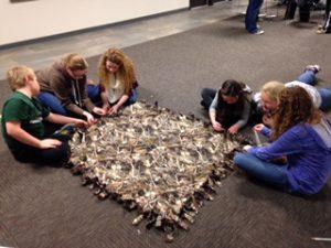 royal-raiders-making-blankets-1