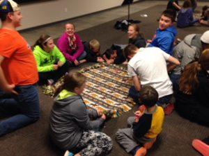 royal-raiders-making-blankets-2
